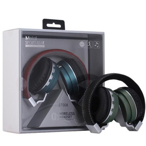 Foldable Wireless Headphone,Headband Metal BT Earphone,HD Stereo Gaming Headset With With FM Radio