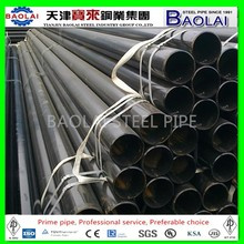Black Mild Carbon ERW Steel Pipe
