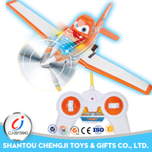 Remote control toy china model airplanes with 3D light music