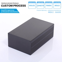 Small aluminum extrusion profiles shell/case