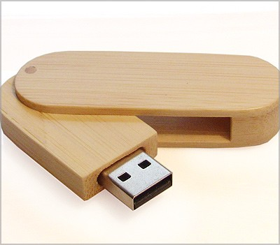 Eco Friendly wooden bamboo usb stick