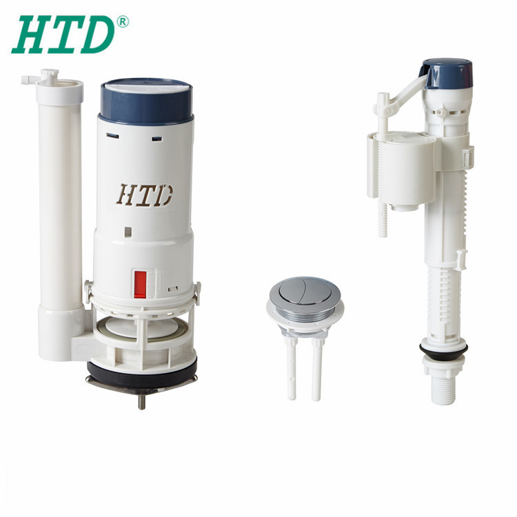 Dual Flush Toilet Push Button Water Valve