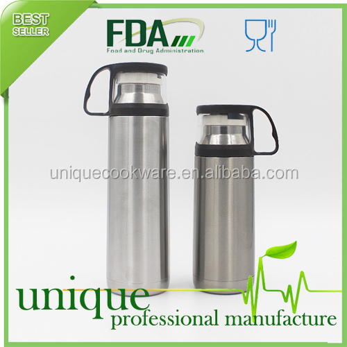 Stainless Steel Vacuum Bottle Coffee Thermos Travel Insulated Container 500ML