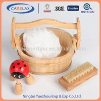 free sample available Natrual plastic travel bath sets