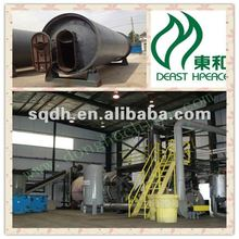 waste rubber /car tyre recycling device with capacity of 8-10T/D