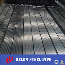 China steel pipe rectangular / square tube / construction pipe horse tube