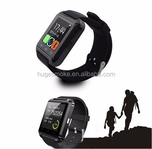 Factory price multifunctional pedometer u8 A1 smart watch moto 360 smart watch for android and IOS