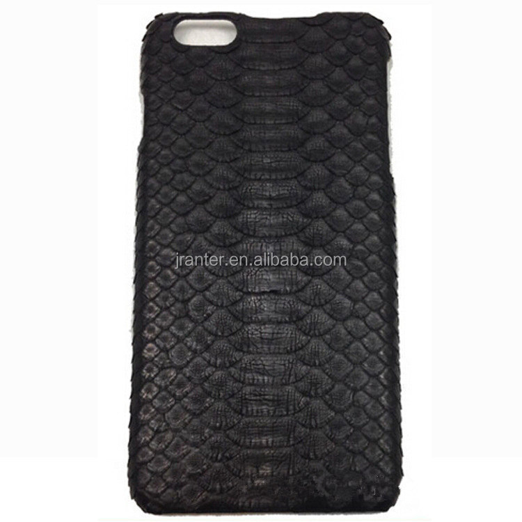 100% Python Snake Skin Leather Phone Case Cover