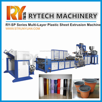Multi Layer Extruder Machine for Plastic Sheet