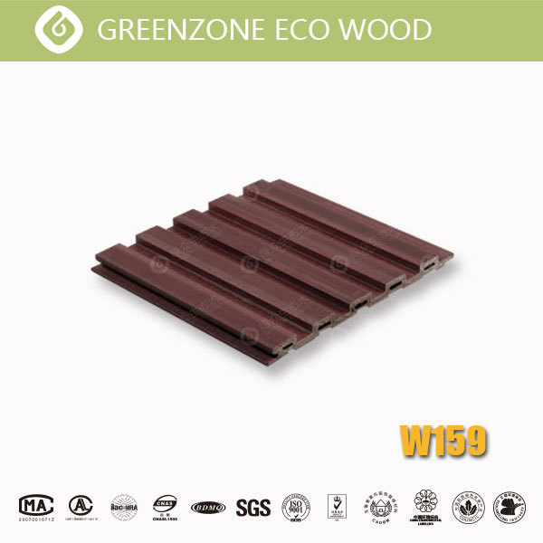 water resistant wood panel wpc cladding outdoor wall covering