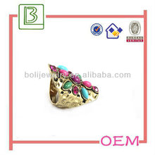 Equisite fashionable diamond ring jewelry for 2013 new design