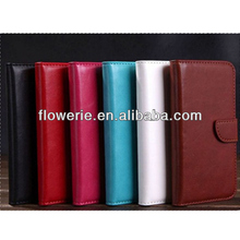 FL3196 Guangzhou new product stand credit card holder flip leather case for samsung galaxy note 2 n7100
