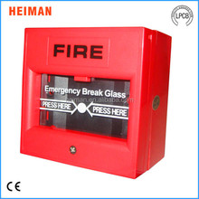 Conventional fire alarm control panel connection 24V fire alarm break glass