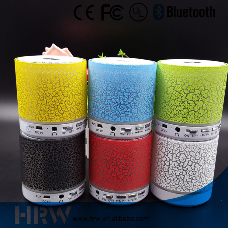 High sound quality led bluetooth speaker seven color change outdoor bluetooth speaker audio speaker with LED light