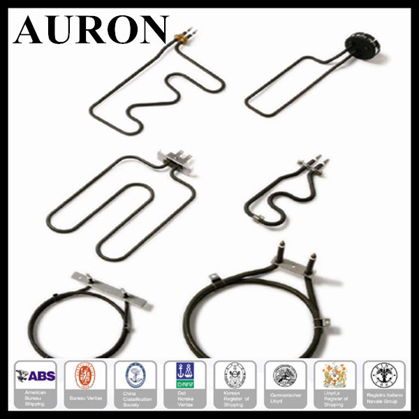 AURON U Shape Water Tubular Electric Immersion Heater/ Heater parts U type elbow electric heater tubular