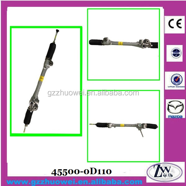 Power Steering Rack, Rack and Pinion Steering for Toyota Vios 45500-0D110