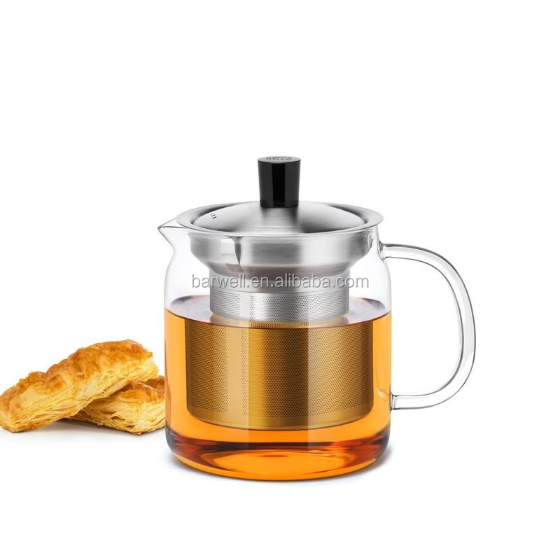 Hot sales glass tea kettle