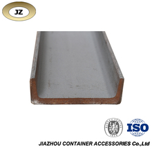 Rear corner post inner shipping container parts channel