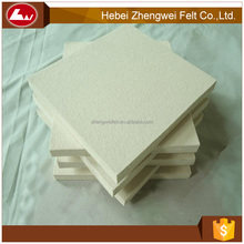Natural White 10mm Thick Wool Felt from China Supplier