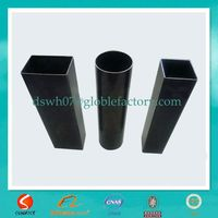 small dimensions cast iron square black pipes china factory