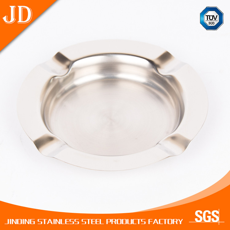 Windproof stainless steel metal ashtray wholesale