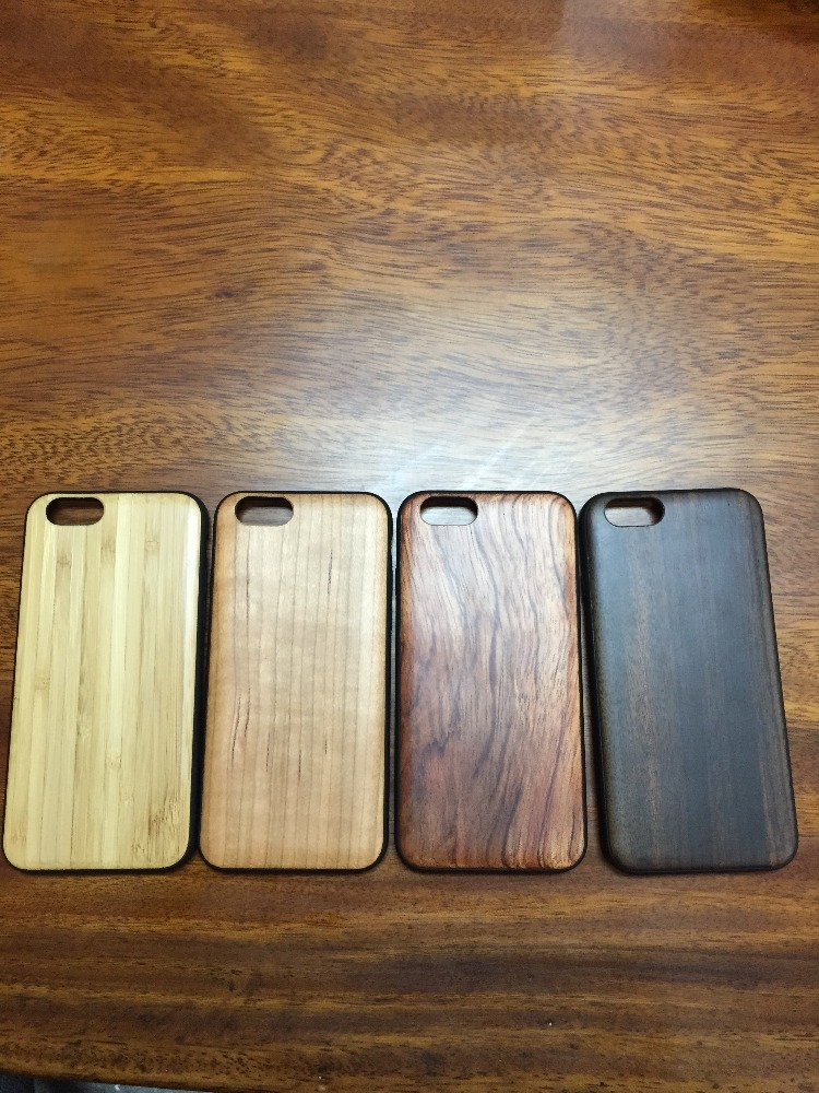 Bamboo Case for iPhone 6s Plus Pure Natural Wood Case for iPhone 6s Case Cover