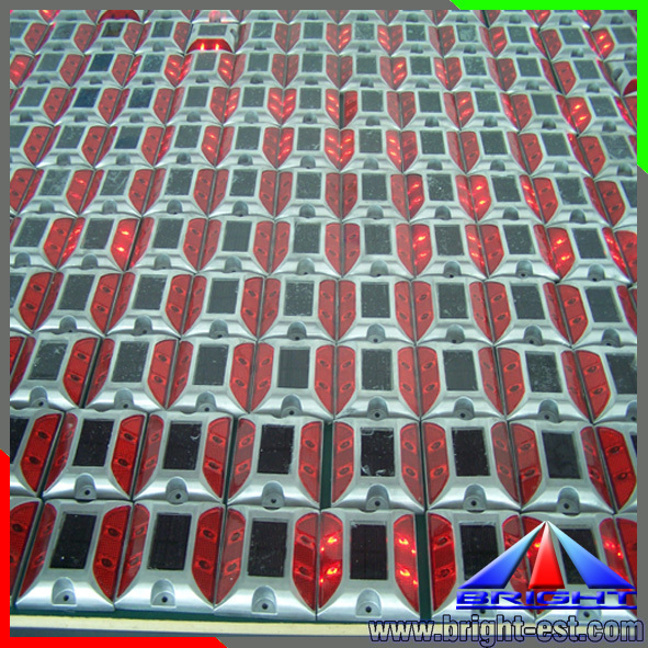 (Solar Spike Constant/Flashing Light) Led Solar Road Stud