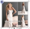FQ0093 Sleeveless Mermaid Kebaya Modern Wedding Gown Bridal Gown