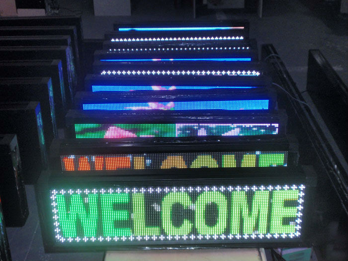 text/message p20 p10 p16 dip 2R led display sign/led screen/panel single color red