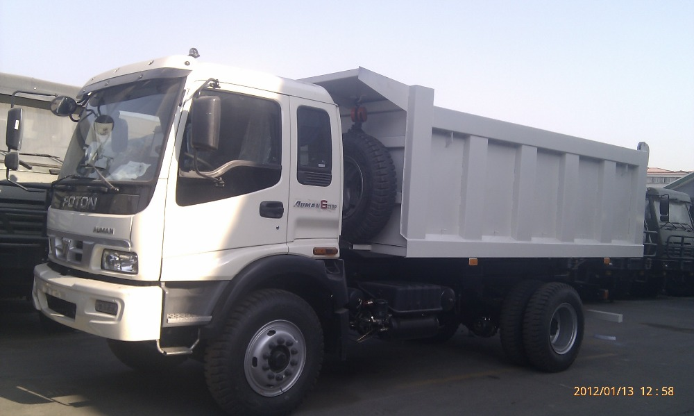 Heavy Duty Truck FOTON AUMAN VT Series 4X2 Dump Truck for Sale