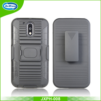Heavy duty rugged hybrid defender armor case for motorola moto g4