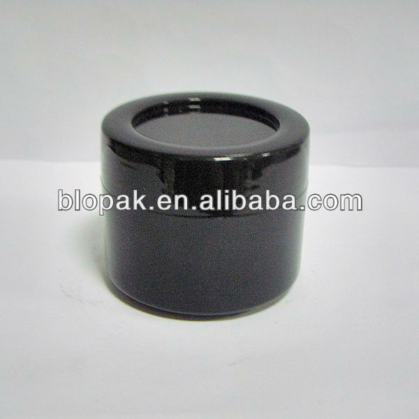 30g black jar for cosmetic cream