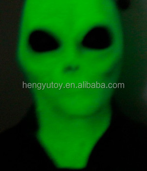 2015 hot selling king party masks Luminous Cosplay Alien mask