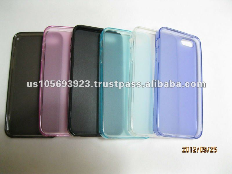 2012 hotsell TPU Pudding case for Iphone 5