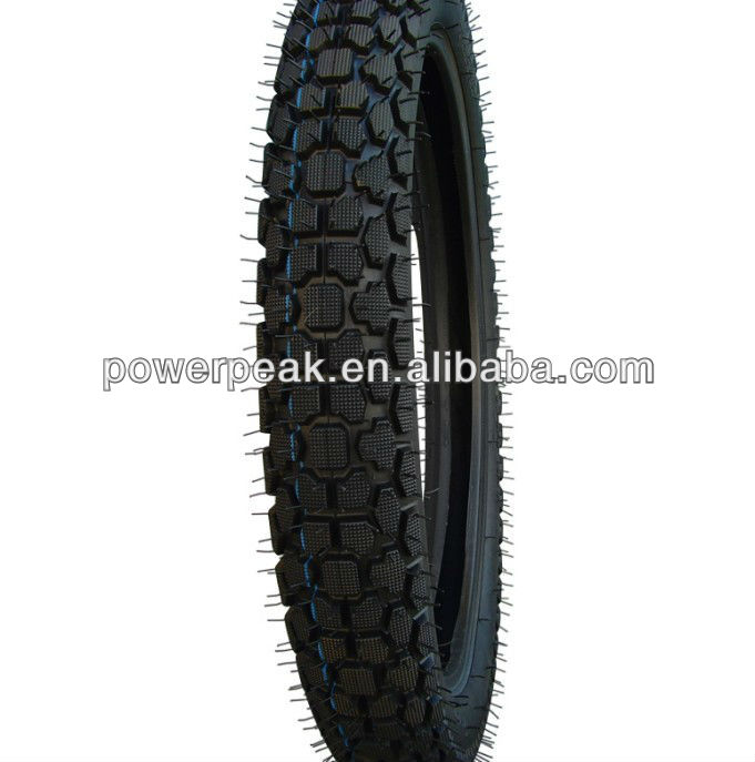 Chinese factory 3.50-16 4.50-16 cheap off road three wheel motorcycle tyre