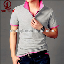 Solid color polo special made for man at low price in China factory
