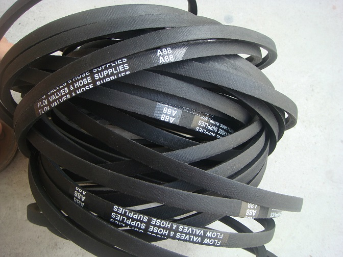 Rubber cogged wedge V belt for washine machine