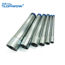 IMC ul listed galvanized round electrical conduit / pipes