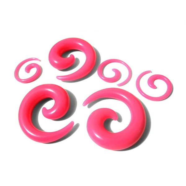 Newest Solid Color Wholesale Custom Acrylic Ear Nail Piercing Jewelry