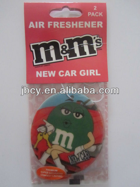 new product Promotional Paper Car Air Freshener,Custom Paper Air Freshener,Air Freshener for Car