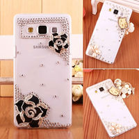 Rose Fashion Design for Samsung Galaxy A7 Diamond Mobile Phone Case