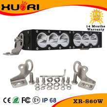 30w 60w 90w 120w led car driving light bar amber/white high power 5400lm led bar light for truck, offroad,4x4