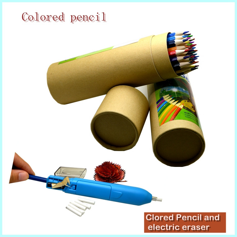 Stationery sets 36pcs Colored Pencil with Pencil sharpener for Art Paints