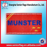 Custom cheap outdoor sport printing polyester banner and flag