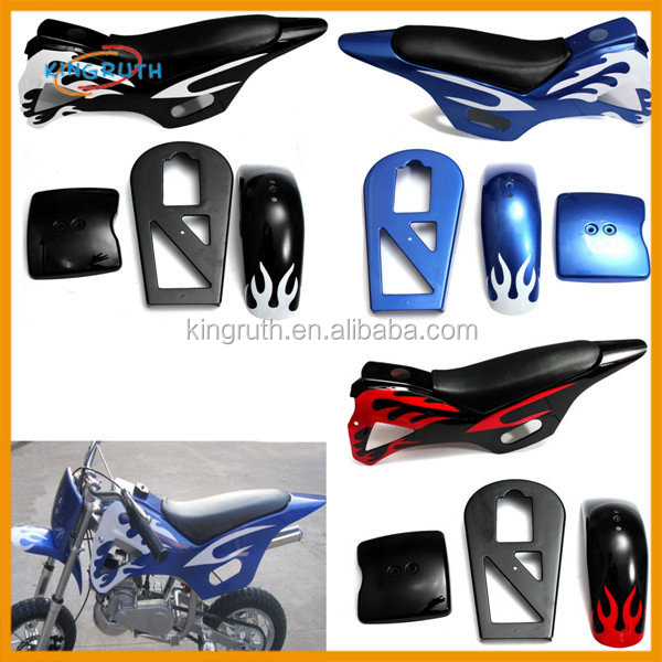 Mini Moto Pocket Bike Fairing Body Kit Plastic 47cc 49cc mini dirt bike