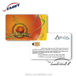 Blank/color contact/contactless IC card/smart card for your need from direct factory