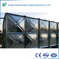 Buy wholesale direct from China modular panel smc grp frp water storage tank