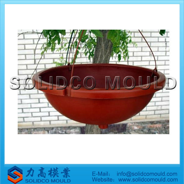 all kinds of plastic injection garden flower pot mould