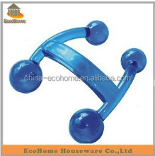 Manual handle Plastic body mini massager