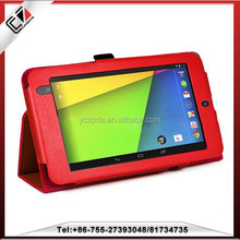 For google nexus 7 waterproof case,stand leather case